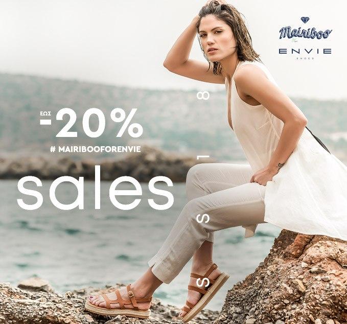 Mairiboo for Envie Summer 2018 Sales