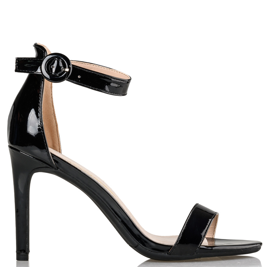 fdabb454adbd ANKLE STRAP SANDALS Miss NV Μαύρο 36426 ⋆ egynaika.gr